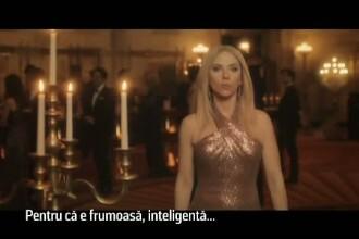 Scarlett Johannson o parodiaza pe Ivanka Trump, la emisiunea satirica