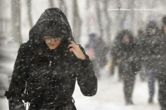 Prognoză specială pentru Bucureşti, emisă de urgenţă de ANM. Când începe să ningă