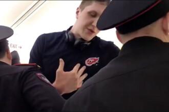Motivul incredibil pentru care un sportiv rus a fost dat jos din avion. Ce parte a corpului sau era
