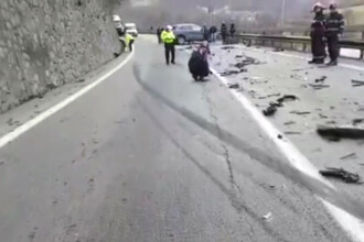 Lucian Isar, sotul Alinei Gorgiu, transferat la Floreasca dupa accidentul de pe Valea Oltului. Politia a deschis dosar penal