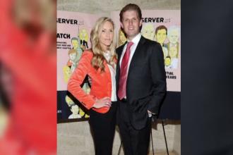 Donald Trump va deveni din nou bunic. Fiul presedintelui american, Eric, a anuntat ca sotia lui va naste un baiat