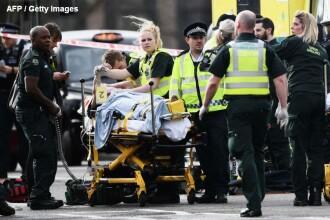 O romanca este in stare grava dupa atacul din Londra. Ar fi fost proiectata in raul Tamisa de masina teroristului. VIDEO