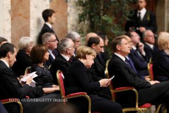 Iohannis o contrazice pe Merkel privind relatia transatlantica.