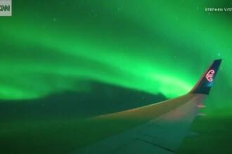 Zbor de neuitat pentru 134 de pasageri. Au platit 28.000 de dolari pe un bilet pentru a calatori prin Aurora Australa
