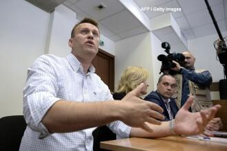 Opozantul rus Aleksei Navalnîi acuză autorătățile ruse că i-au răpit un colaborator