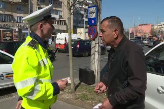 Scandal in sectorul 4 al Capitalei, unde soferii care parcheaza pe trotuare sunt deja amendati.