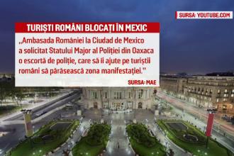 20 de romani blocati 24 de ore intr-un autocar, in Mexic, din cauza unor proteste: