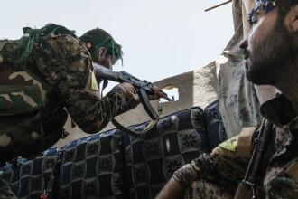 Kurzii din Siria suspendă operaţiunile împotriva ISIS. Motivul invocat