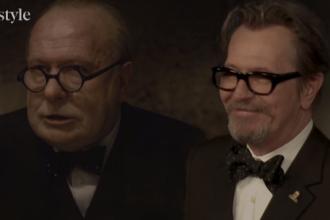 Gary Oldman, șanse la Oscar cu transformarea în Winston Churchill. A stat 150 de ore la machiaj