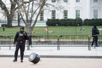 """Un bărbat s-a împușcat în fața Casei Albe. Secret Service: """"Există o singură victimă"""""""