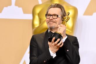 Gary Oldman a câștigat Oscarul 2018 pentru cel mai bun actor în rol principal