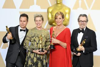 Oscar 2018. Frances McDormand a fost desemnată cea mai bună actriţă în rol principal