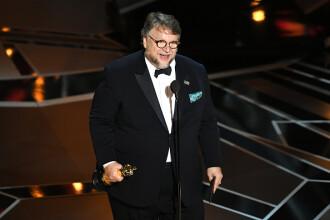 """Oscar 2018. Discursul emoționant al lui Guillermo del Toro: """"Sunt un imigrant"""""""