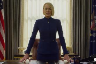"""Primul teaser al ultimului sezon """"House of Cards"""", fără Kevin Spacey, prezentat de Netflix"""