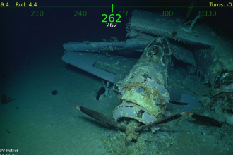 Navă SUA scufundată în timpul celui de-al doilea Război Mondial, descoperită după 76 de ani