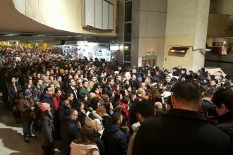 """Aglomerație la metroul din Capitală. Metrorex a anunțat """"deranjamente în circulație"""""""