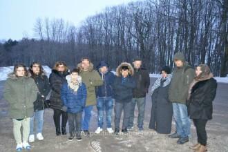 13 migranţi, ascunşi în mai multe microbuze care veneau din Turcia şi se îndreptau spre R. Moldova