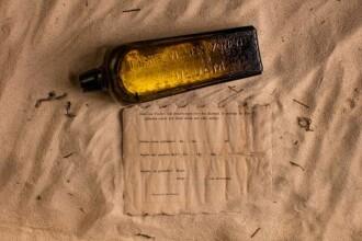 Cel mai vechi mesaj într-o sticlă, găsit pe o plajă australiană după 132 de ani