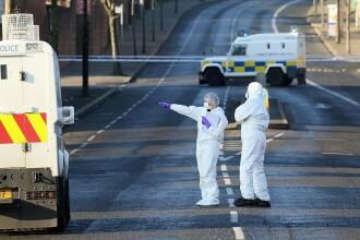O bombă a explodat sub mașina unui polițist din Irlanda de Nord