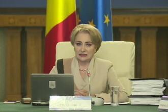 """Premierul Viorica Dăncilă pronunță greșit, de mai multe ori, """"imunoglobulină"""". VIDEO"""