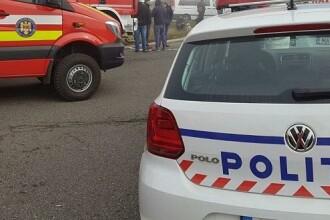 Accident cu 3 maşini pe DN1, la Buşteni. Şase oameni au ajuns la spital