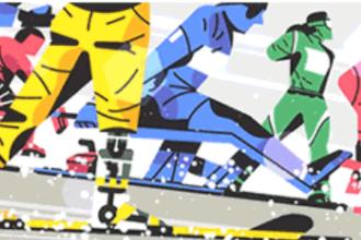 Jocurile Paralimpice 2018 sărbătorite de Google cu un Doodle