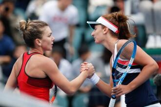 Begu şi Halep, învinse în primul tur la dublu la Indian Wells