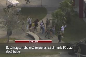 Apelurile către 911 în timpul masacrului din Florida: