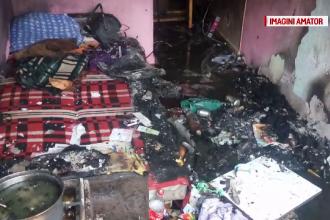 Un bărbat a suferit arsuri grave, după ce și-a salvat prietenul dintr-un incendiu