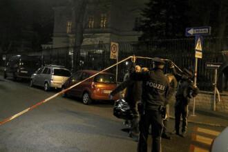 Atac cu cuţitul în Viena, la ambasada iraniană. Agresorul, ucis pe loc