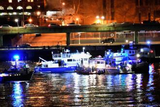 Un elicopter s-a prăbuşit în New York. 2 pasageri au murit, 3 sunt în stare critică