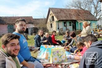 Cum s-a mobilizat un grup de voluntari să o surprindă pe tanti Leana, bătrâna cu un trai modest din Valeapai