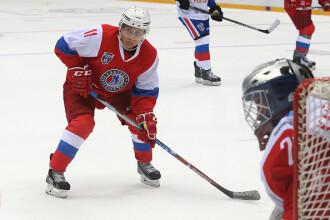 Motivul pentru care Vladimir Putin nu este atacat niciodată când joacă hochei