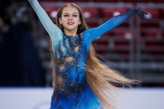 O fetiță de 13 ani a scris istorie în patinajul mondial. Antrenorul ei și-a pus mâinile în cap
