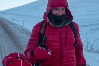 Tibi Ușeriu conduce detașat ultramaratonul de la Cercul Polar de Nord