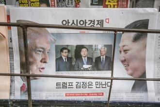 Pregătiri pentru întâlnirea Trump - Kim. Sud-coreenii cer sprijinul Chinei şi Japoniei