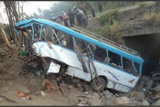 Un autobuz cu elevi a căzut într-o râpă, în Etiopia. 38 de persoane au murit