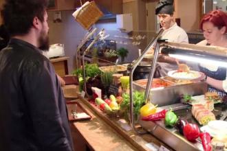 Cantinele cu mâncare gătită și ieftină au un succes uriaș la români. Un prânz începe de la 15 lei