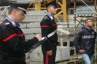 Un italian i-a înscenat un accident auto unui muncitor român care îi repara casa