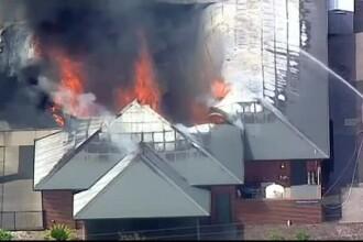 Un incendiu puternic a distrus un azil din Australia