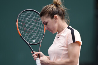 """Simona Halep s-a calificat în semifinale la Indian Wells. """"Am refuzat să pierd"""""""