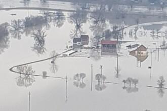 Cod galben de inundații pe râuri din opt județe