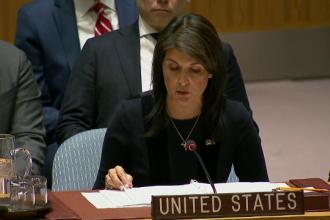 Nikki Haley, ambasadoarea Statelor Unite la ONU, și-a dat demisia