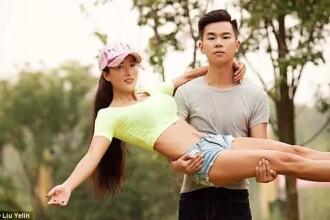 O femeie de 50 de ani din China e luată drept iubita fiului ei. Cum se ţine în formă