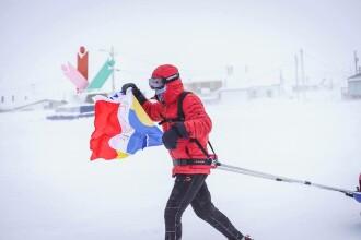 Calvarul prin care a trecut Tibi Ușeriu la -37 de grade, la ultramaratonul de la Polul Nord. Mărturia mamei sale