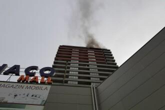 Incendiu puternic la un ansamblu rezidențial din București, Monaco Tower