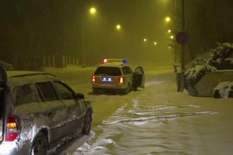 România, lovită de un nou val de frig și ninsori. Zăpadă de 15 cm în Botoșani