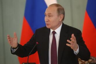 """Putin și-a anunțat victoria în Piața Roșie. """"Alegătorii au recunoscut realizările ultimilor ani"""""""