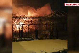 Incendiu puternic în oraşul Pantelimon. Proprietarul beat criță nici nu a realizat ce se întâmplă