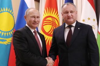 Igor Dodon: Rusia, în frunte cu Putin, a devenit un simbol al speranței tuturor popoarelor